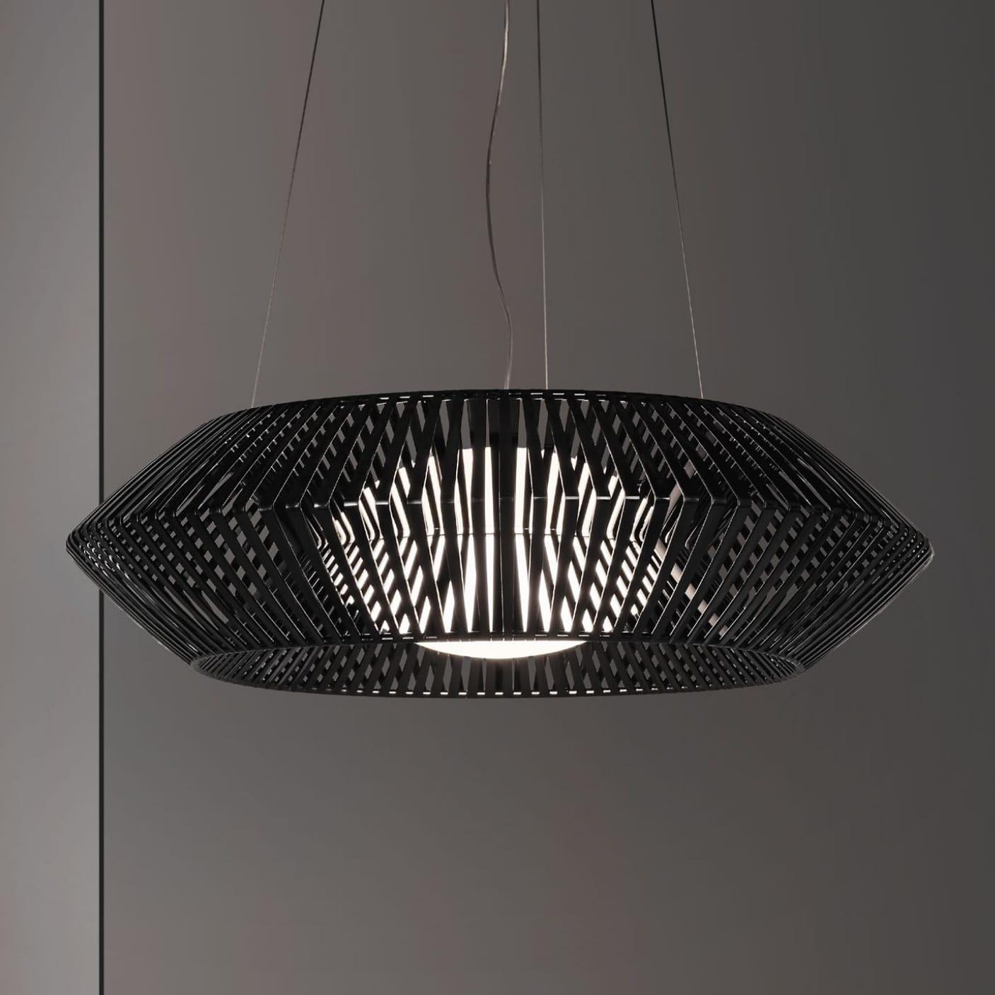 Black Arturo Decorative Custom Light Fixture