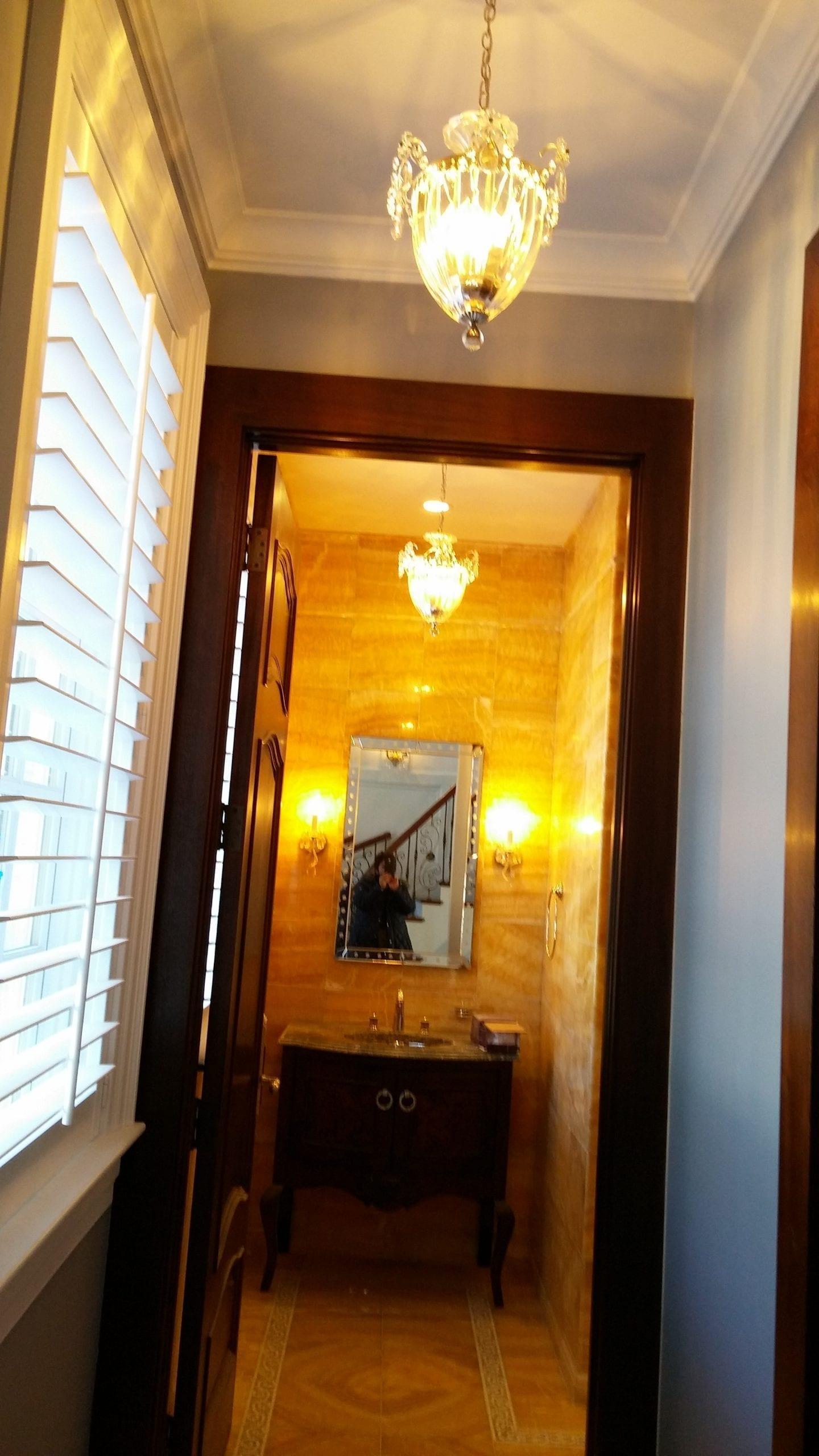 Hallway Custom Light Fixture