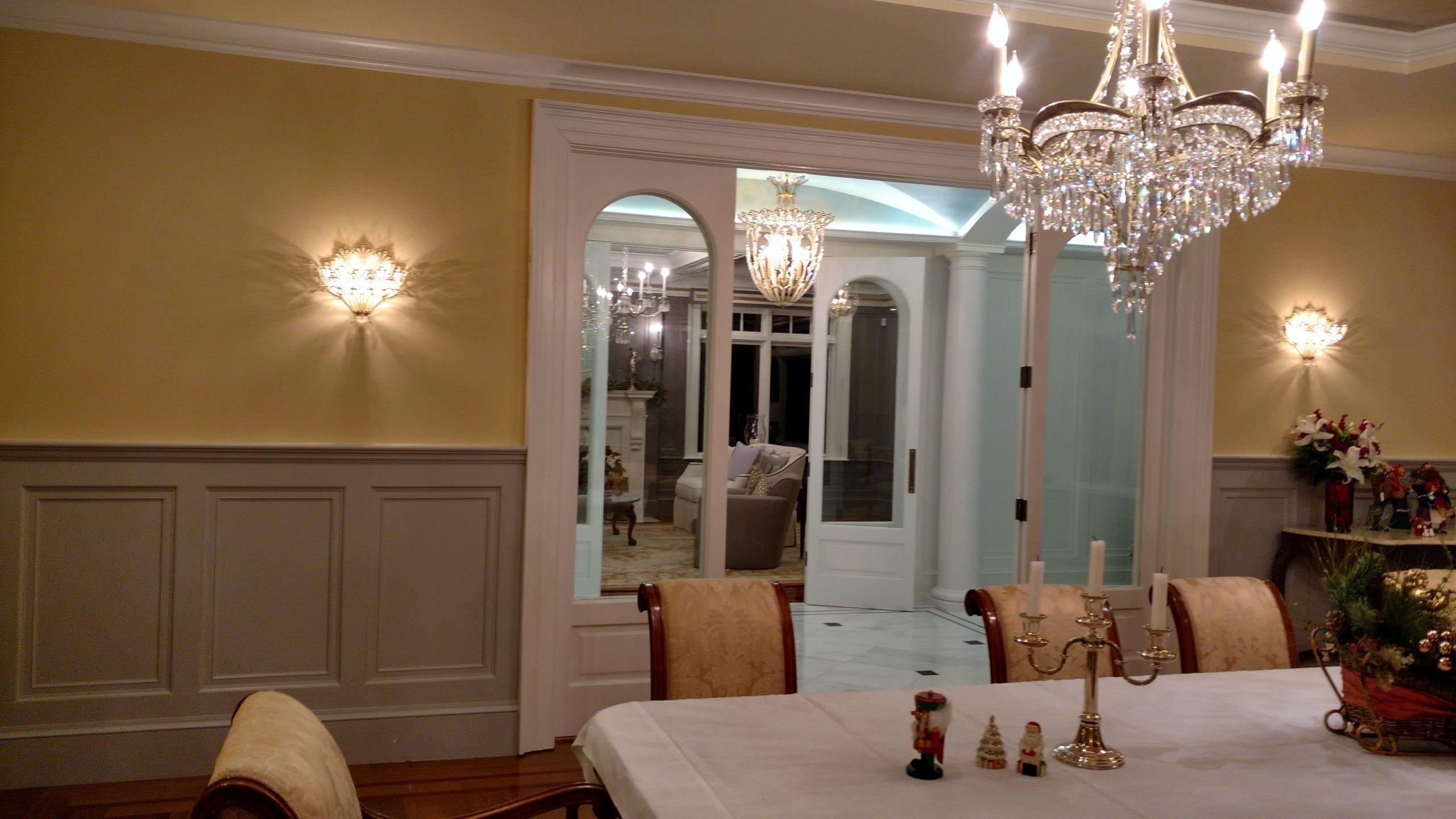 Dining Room Custom Chandelier Light Fixture
