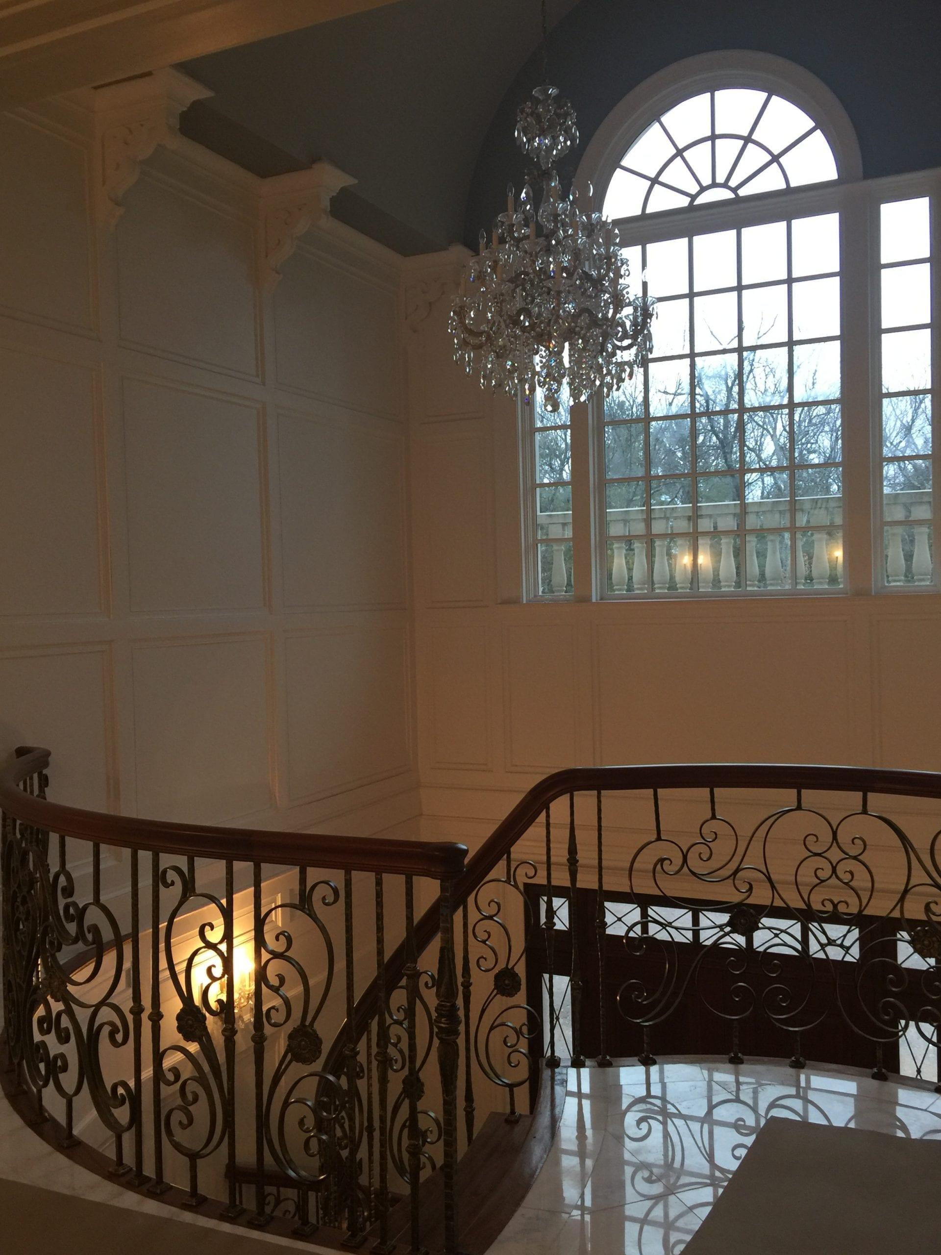 Foyer Custom Chandelier Light Fixture