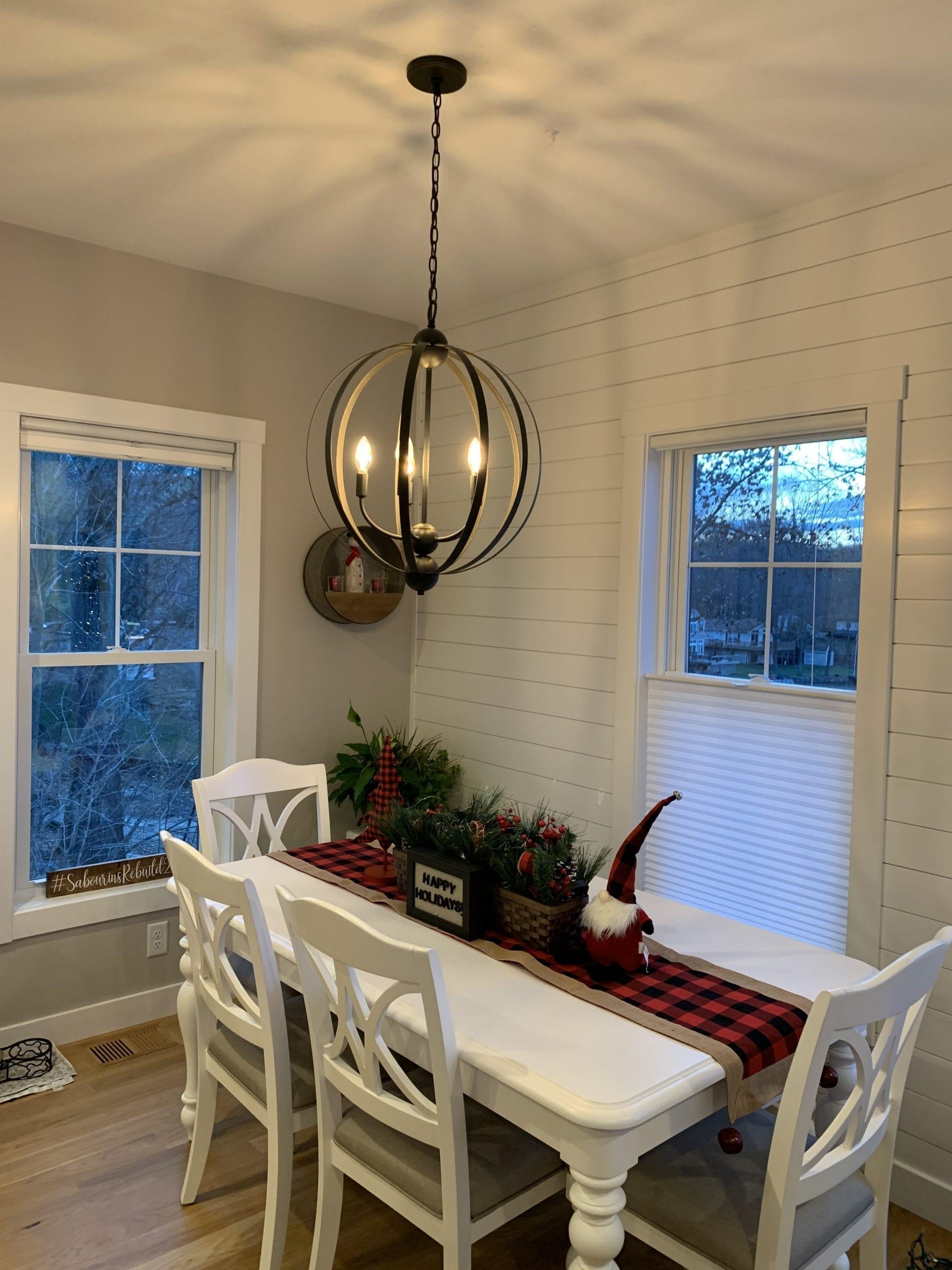 Dining Room Custom Light Fixture | Boston, MA