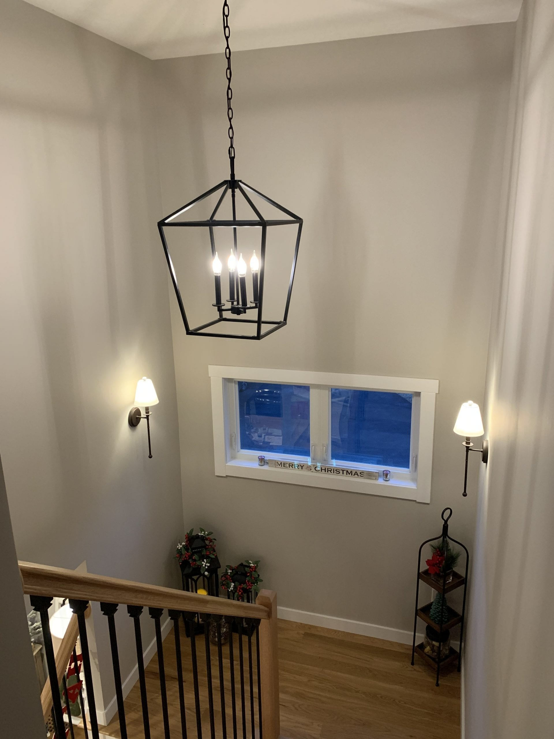 Stairway Custom Light Fixture