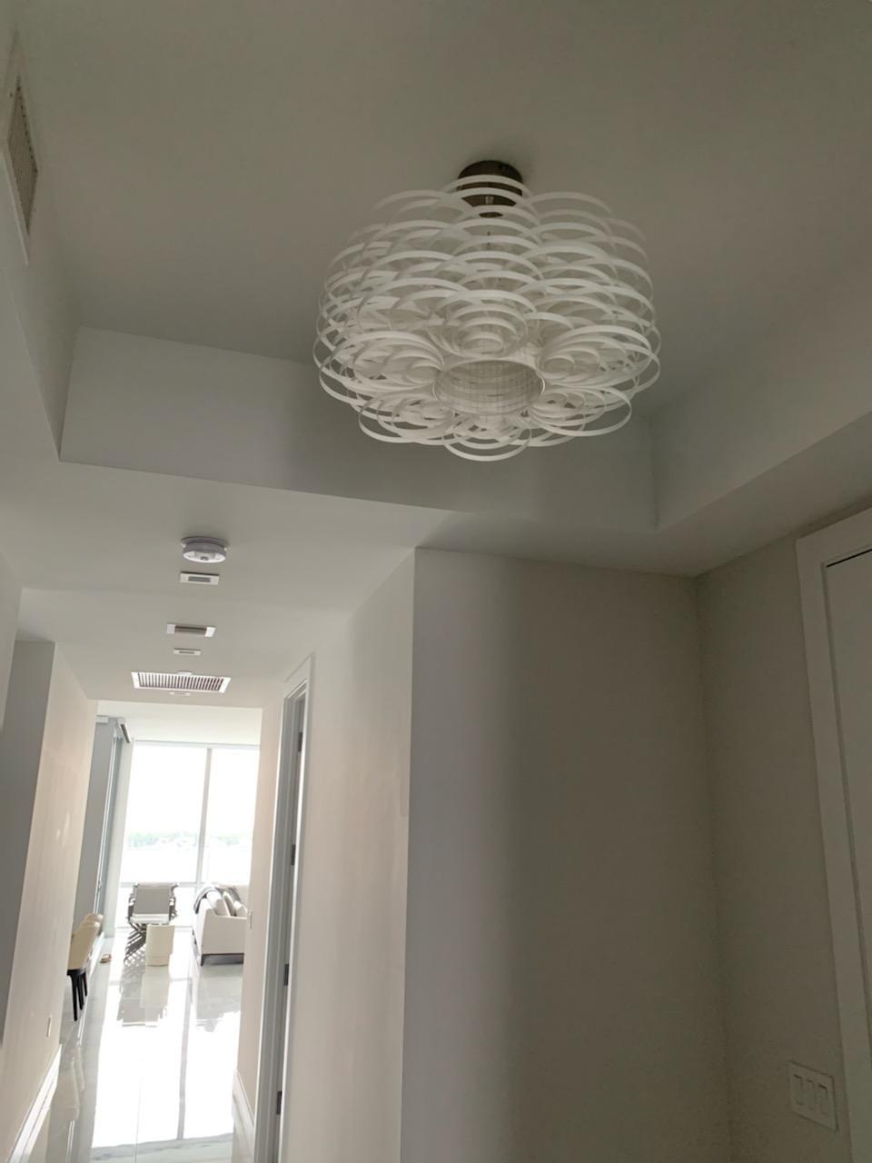 Custom Flower Decorative Light Fixture