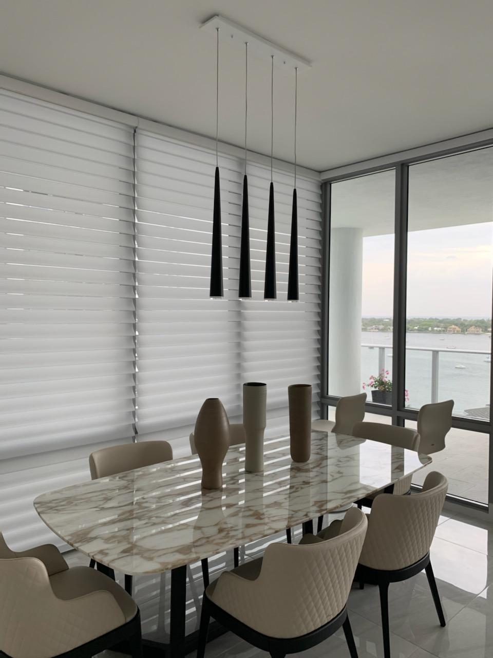 Dining Room Custom Light Fixtures | Interior Designer