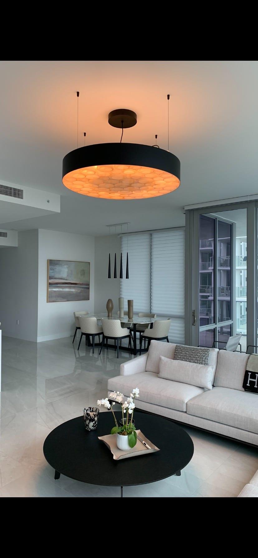 Living Room Decorative Custom Lighting Fixtures