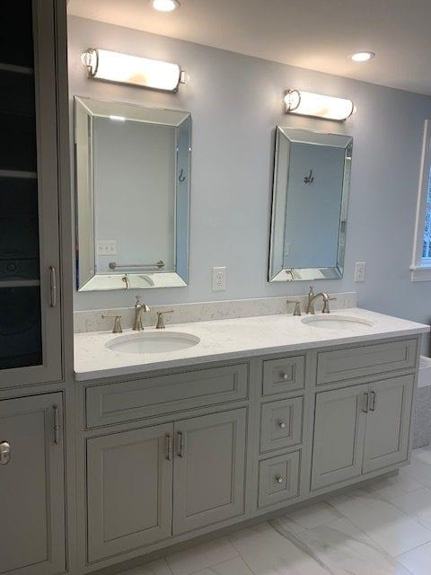 Bathroom Custom Light Fixtures
