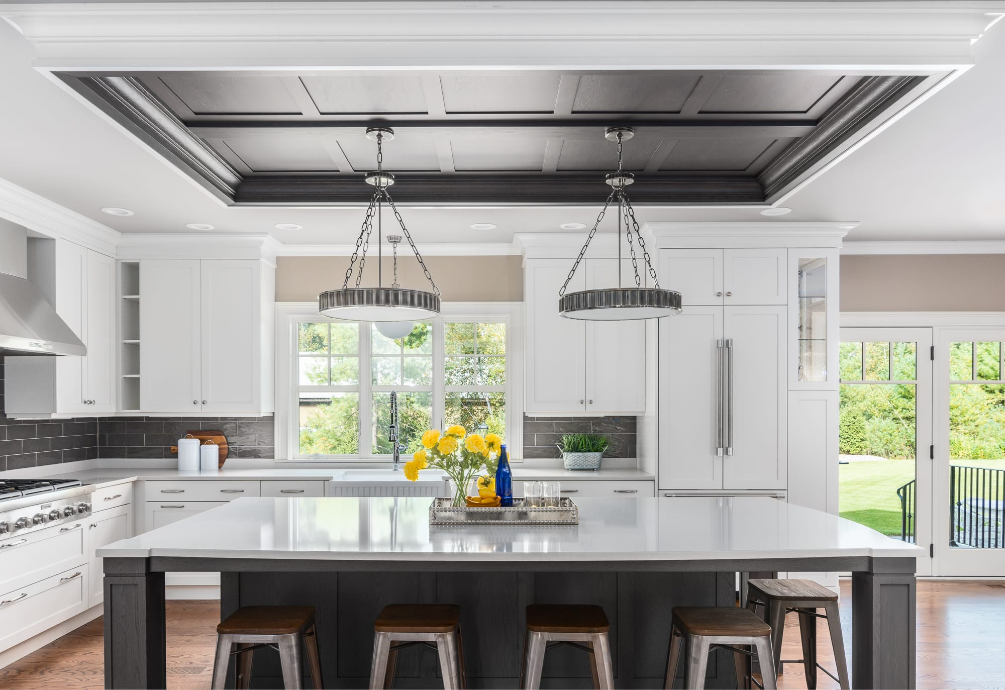 Kitchen Custom Light Fixtures | Interior Designer