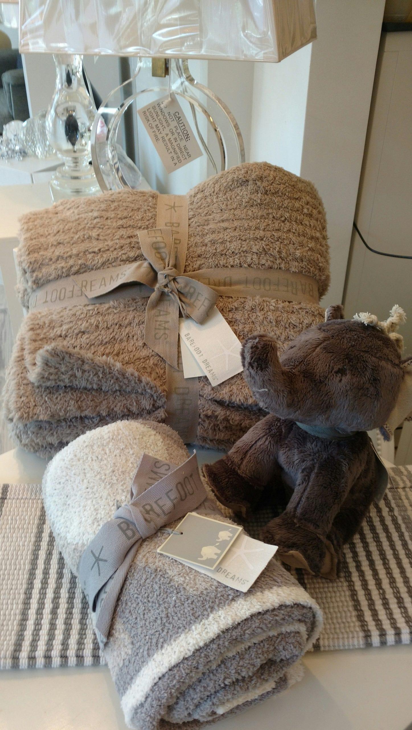 Elephant and Throw Blankets | Interior Designer