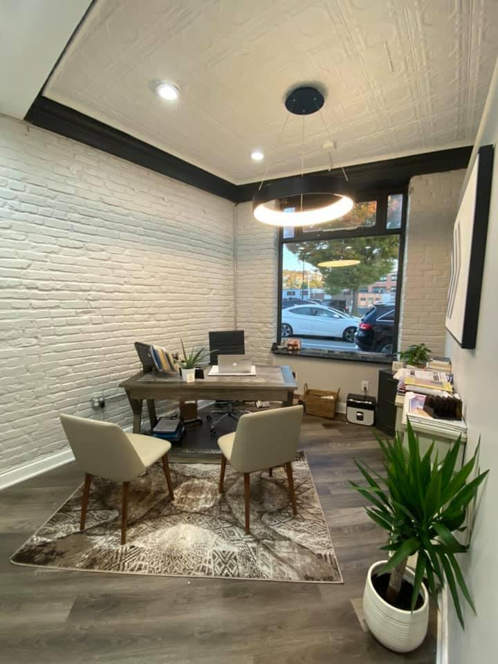 Office Custom Light Fixture   Interior Designer