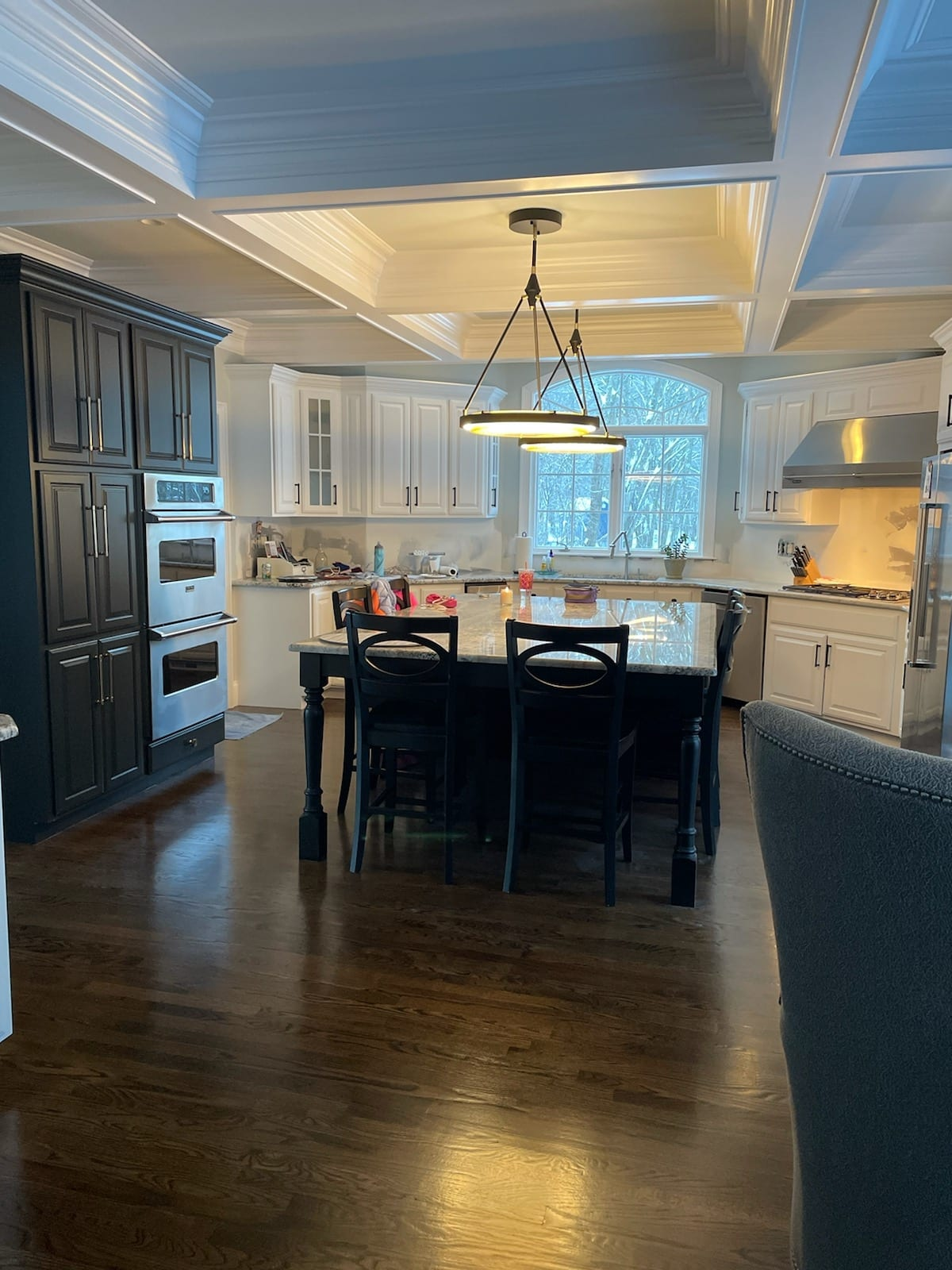Dining Room and Kitchen | Custom Light Fixtures
