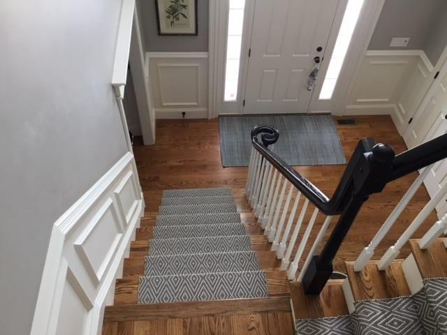 Runner on Stairs | Interior Designer